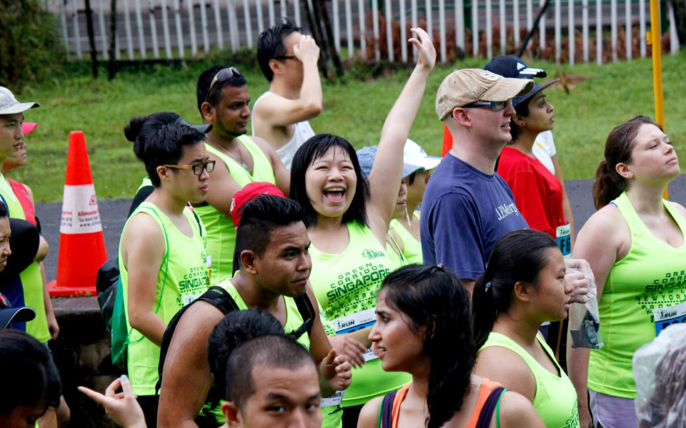 Green Corridor Run 2014: 7,000 Runners Braved the Heavy Downpour