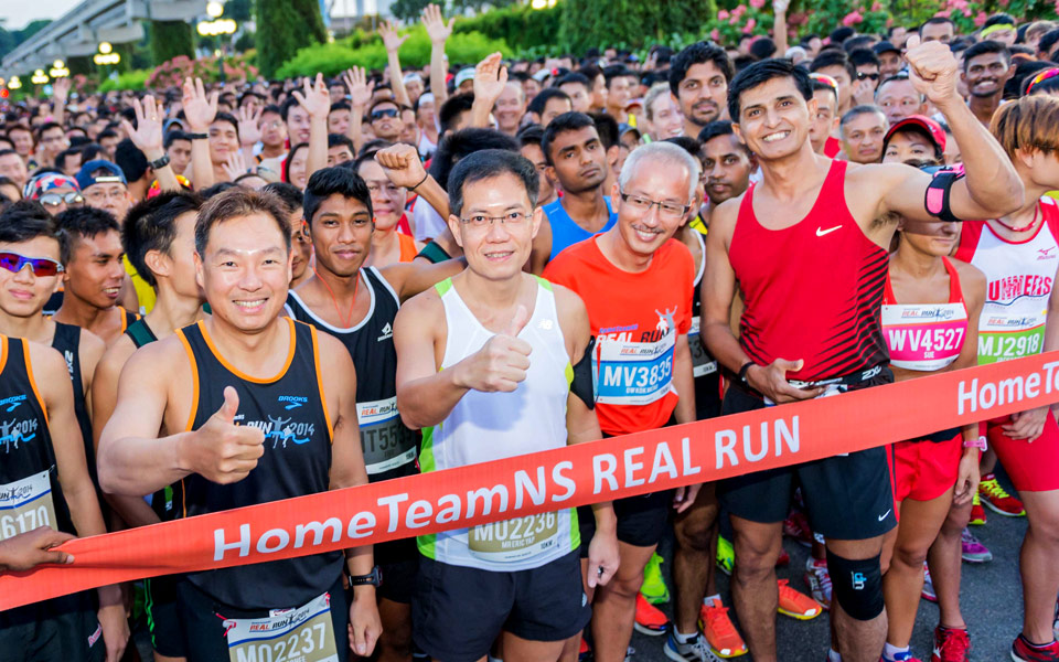 HomeTeamNS REAL Run 2014: Ten Tough Kilometres of Slopes, Trails and Sand