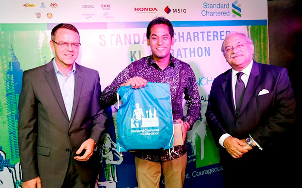 KL Standard Chartered Marathon 2014: Aiming for a Record 35,000 Runners This Year