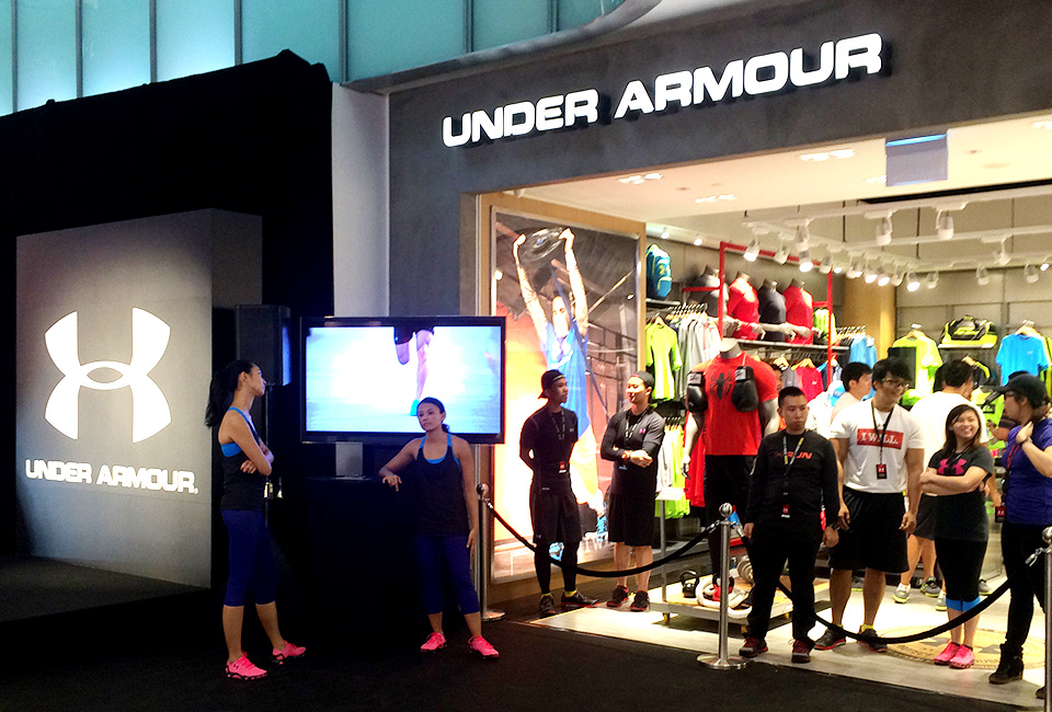 cebc1ee46eb Under Armour s First Two Southeast Asia Retail Stores Officially Launched  in Singapore and Philippines