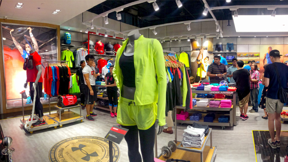 986cd234ee0c Under Armour s First Two Southeast Asia Retail Stores Officially Launched  in Singapore and Philippines