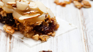 Banana-Nut Energy Bar For Runners