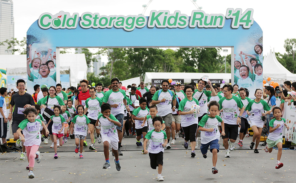 Cold Storage Kids Run 2014: Families Revel in Brand New Venue at Gardens by the Bay