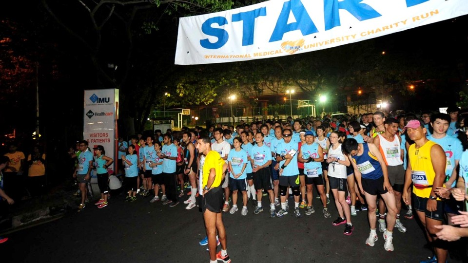 IMU Chariofare Charity Run 2014: Live, Run, Love and Raise Funds for 4 Charities