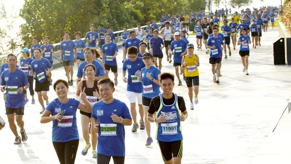 The Straits Times Run The Hub 2014