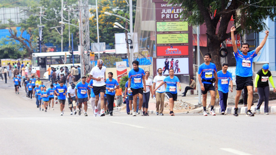 Airtel Hyderabad Marathon 2014 Kicks off Marathon Season in India