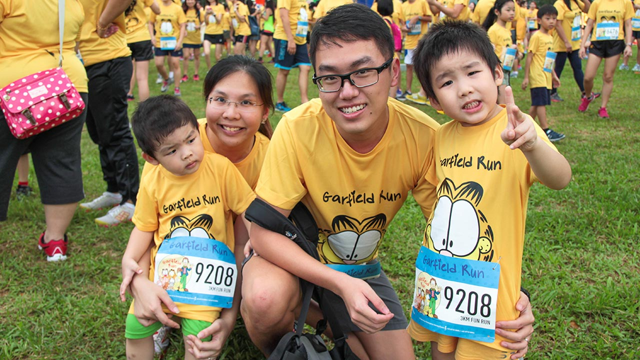 Garfield Run 2014 Attracts 8,200 for an Evening of Furry Fun
