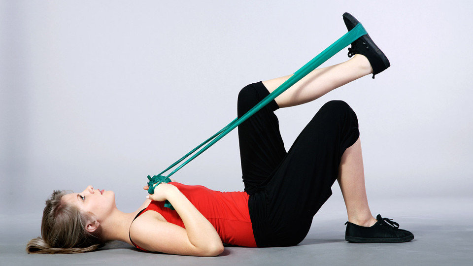 Hamstring Stretch Exercise Limbers You Up Before a Run!