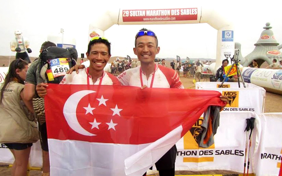Ian Lye and Chin Wei Chong: Leaving Their Mark on the Saharan Desert for Charity