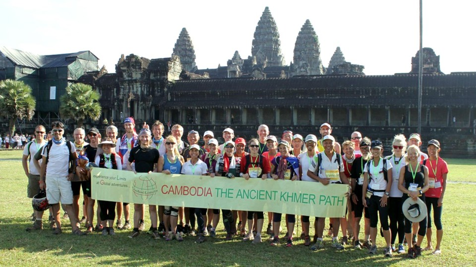 Cambodia The Ancient Khmer Path 2014: Race 220 KM of Unspoiled Nature and Wildlife in Cambodia