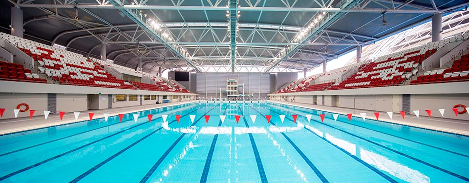 OCBC Aquatic Centre; Photo Credit: DPArchitects