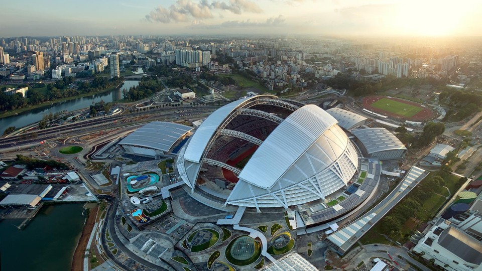Singapore Sports Hub is an Exciting Playground for Sports Enthusiasts