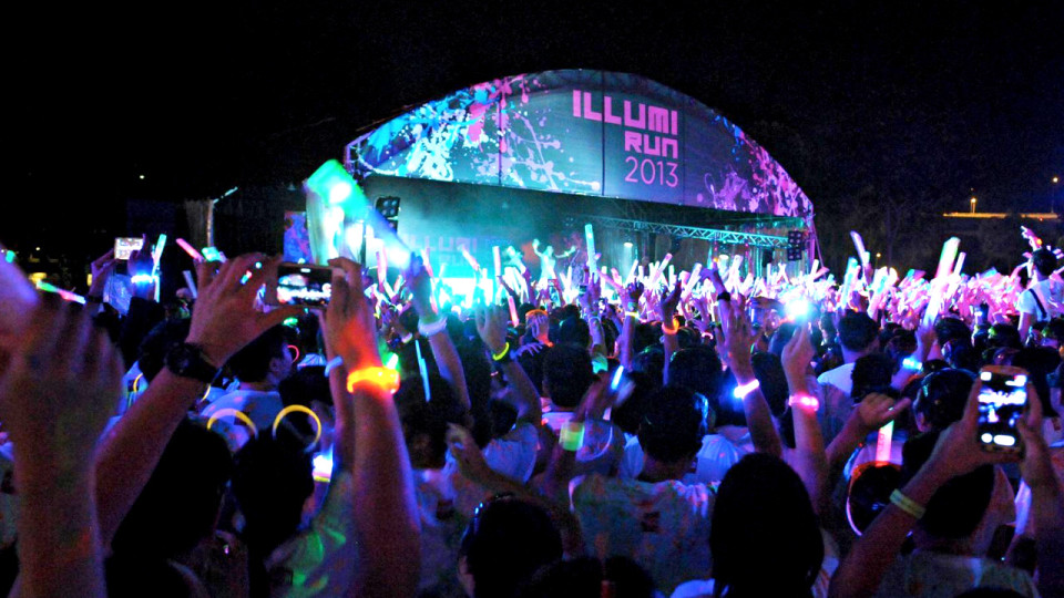 Illumi Run 2014: Singapore's Ultimate Party On The Run Returns, Bigger And Better