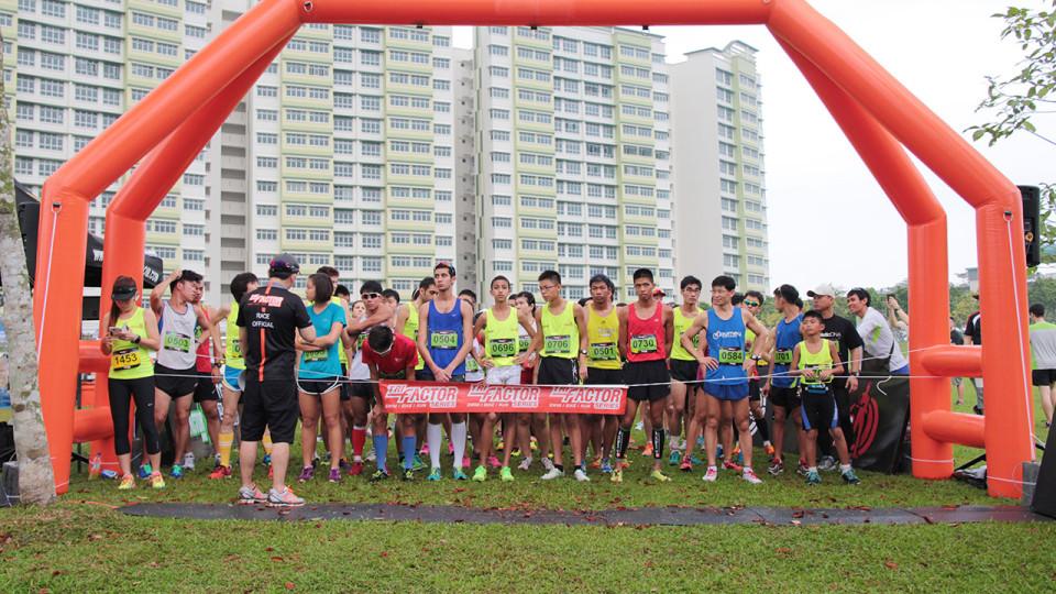 TRI-Factor Run 2014: Thousands Ran their Best at Punggol Waterway Park