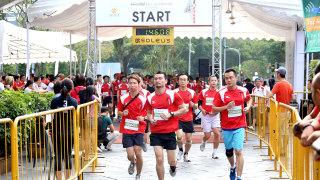 Swissotel Vertical Marathon is Asia's Most Exhilarating Vertical Race!