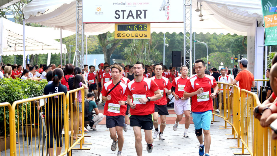 Swissotel Vertical Marathon is Asia's Most Exhilarating Vertical Race!