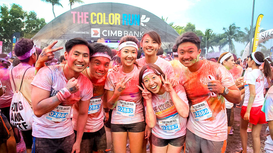 The Color Run 2014 Added Delightful Shades of Fun to Sentosa!