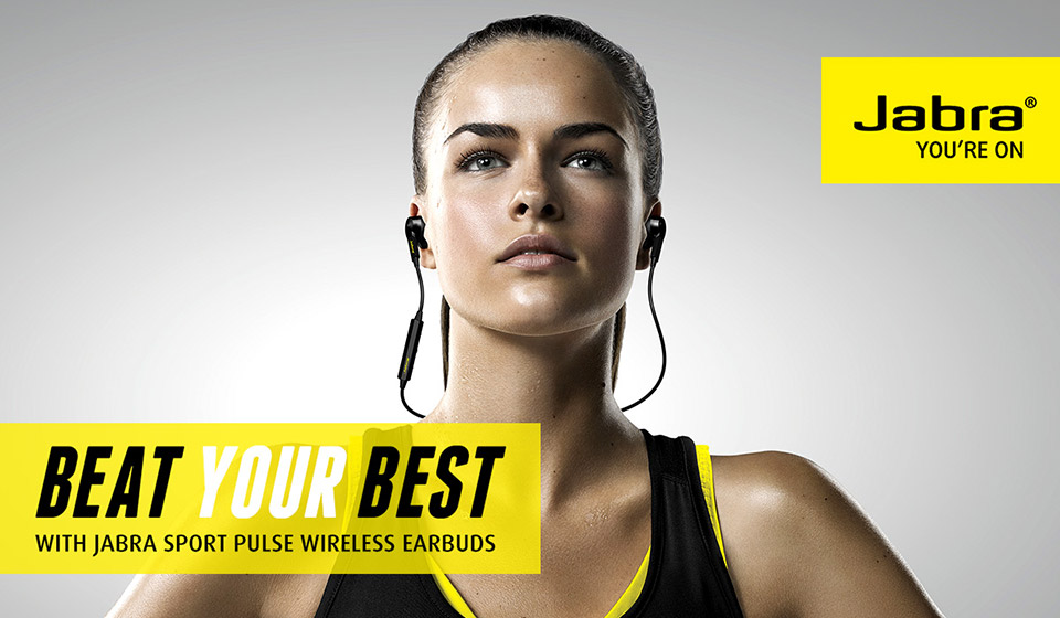 Jabra's Sport Pulse Earbuds Offers Wireless Heart-Rate Monitoring, Dolby Surround and More!