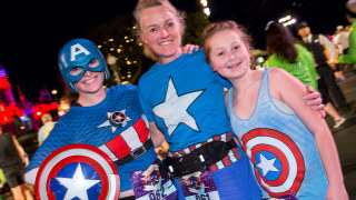 Join the Avengers Team for the First-Ever Avengers Super Heroes Half Marathon Weekend in California!
