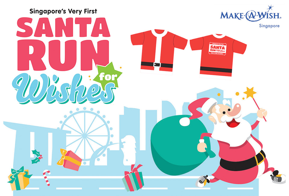 Santa Run For Wishes 2014: Yes, Santa's Coming to Town!