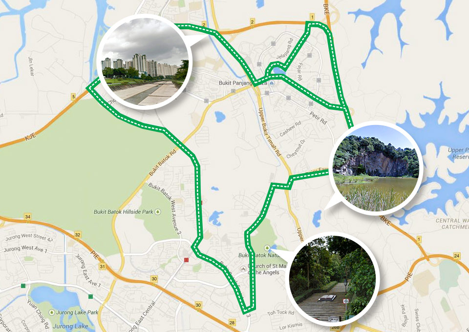 Conquer Singapore by Running Around the Island via 150km Park Connector Loops
