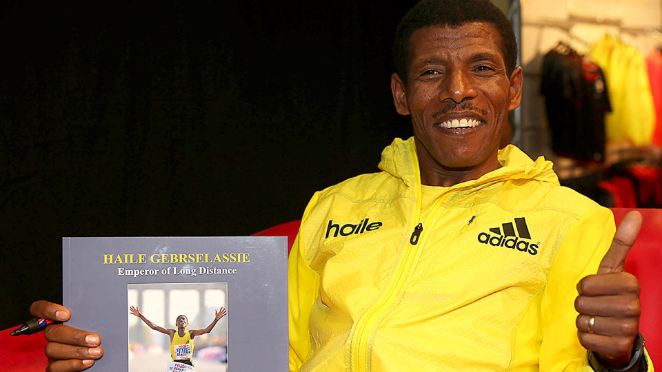 Haile Gebrselassie Marks His Southeast Asia Debut with Entry into the Standard Chartered Marathon Singapore 2014!