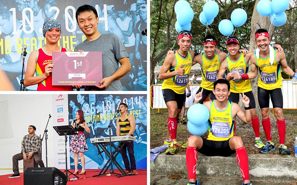 Newton Challenge 2014: Tackling Your Limits with Heart and Vigour!