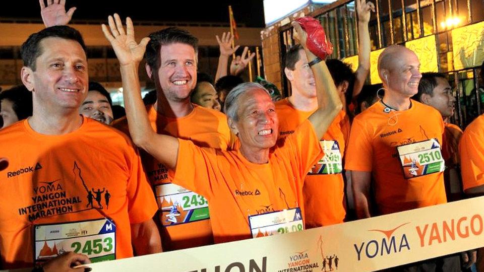 The Yoma Yangon International Marathon is Coming Back to Myanmar in 2015!