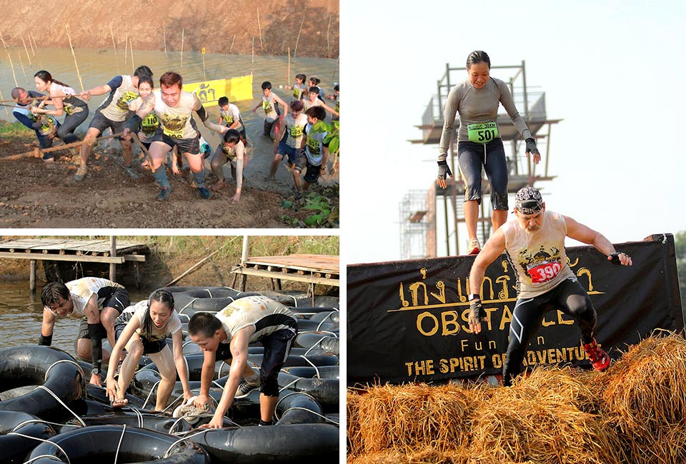 Expect Fun, Teamwork and Plenty of Beer at The Singha Obstacle Fun Run 2014, Thailand