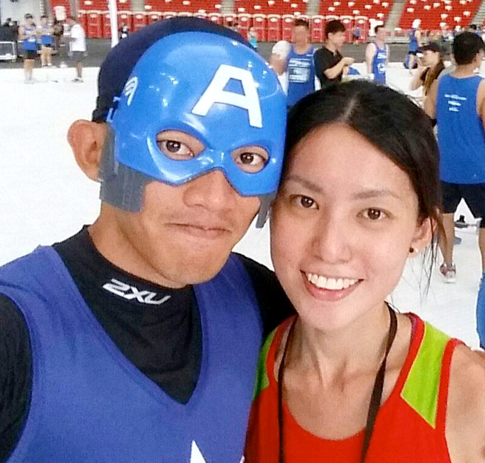 Poon Zi Li and Rachel See: Singapore's Power Running Couple is Heading to Boston!
