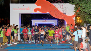 First-Ever Puma Night Run In Sentosa Brings Out Singapore's Big Cats!
