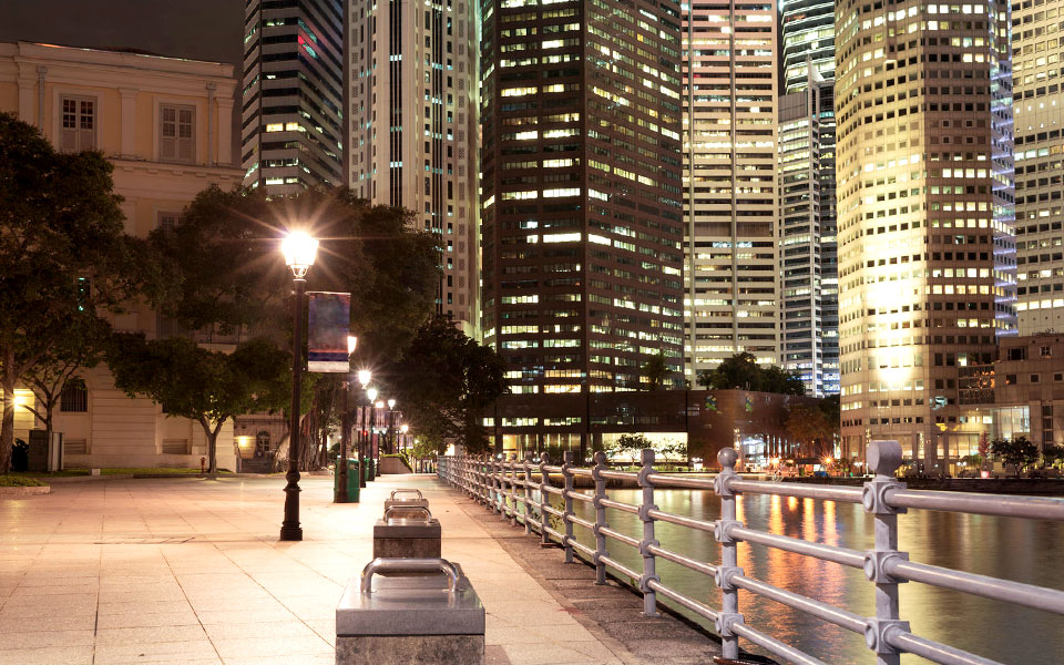 Best Places to Run, Jog or Walk in Singapore at Night