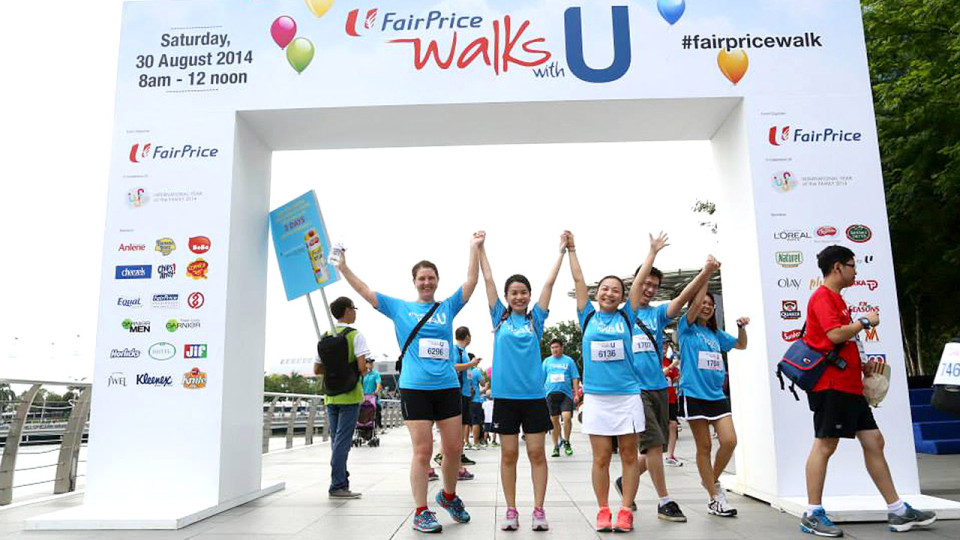 Gear Up for Family Fun with FairPrice Walks With U 2015