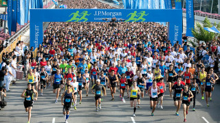 J P Morgan Corporate Challenge 2015