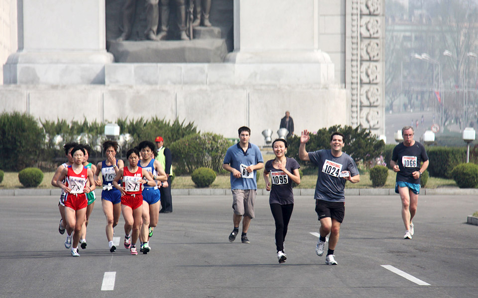 Travel with Koryo Tours for the Pyongyang Marathon 2015