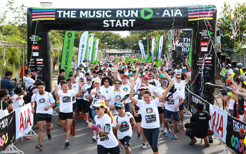 The Music Run™ by AIA Turns Up the Volume in Singapore