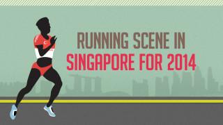 Infographic: Running Scene in Singapore 2014