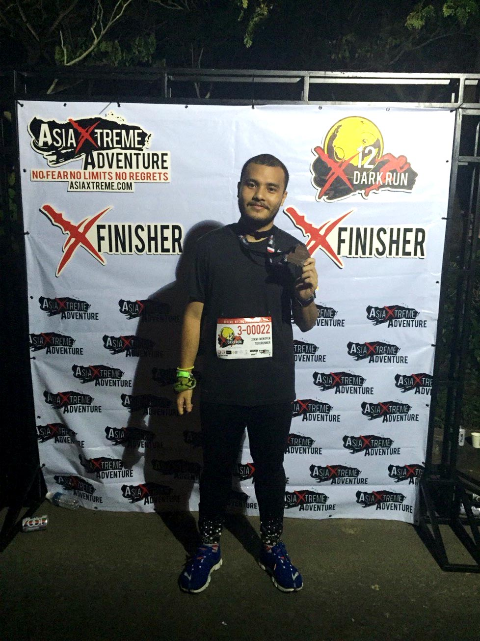 Asia Xtreme Adventure X12 Dark Run: On the Road in the Black Velvet Night