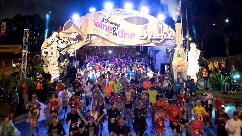 Dreams Do Come True: Disney Wine & Dine Half Marathon Weekend