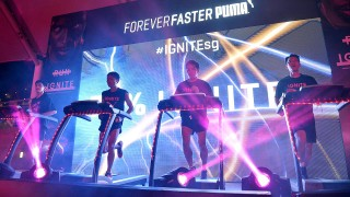 Runners Harness Energy to Launch the PUMA IGNITE in Singapore
