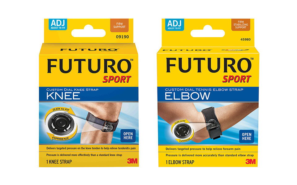 The Latest in Muscle and Joint Pain Relief: 3M FUTURO™ Custom Dial Compression Supports