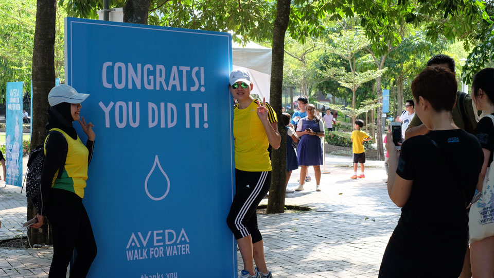 Aveda Walk for Water 2015: A Step into Mother Nature