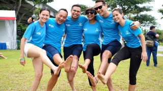 Go Bare Because You Care at Habitat for Humanity Singapore's Bare Your Sole 2015