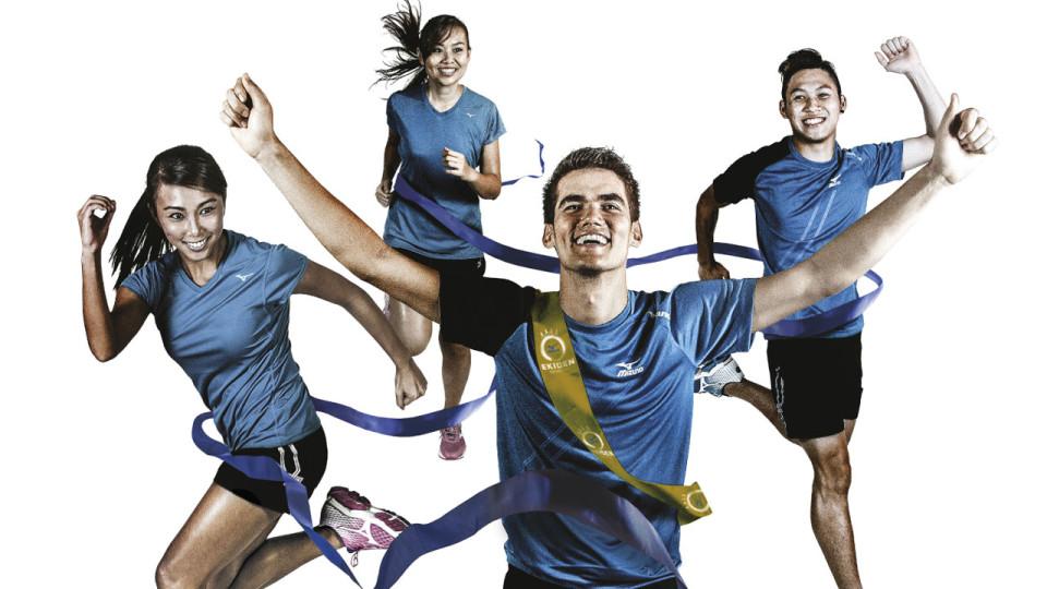 Mizuno Ekiden 2015: First ever full-fledged Ekiden Race in Singapore By Mizuno Singapore
