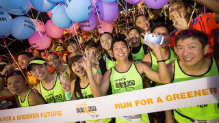 NTUC Income RUN 350 2105: Championing the Green Cause with 12,000 Participants
