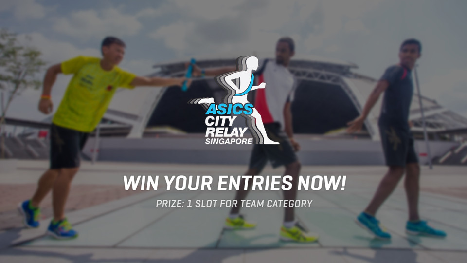 Asics City Relay 2015: Win 1 Set of Race Entries For Your Team!