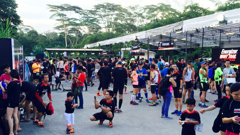 Saturday Night Lights: Energizer Singapore Night Trail 2015