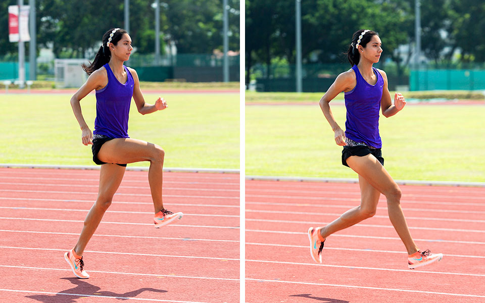 Singapore Track and Field Star Dipna Lim Prasad Personifies NIKE's #betterforit Campaign!