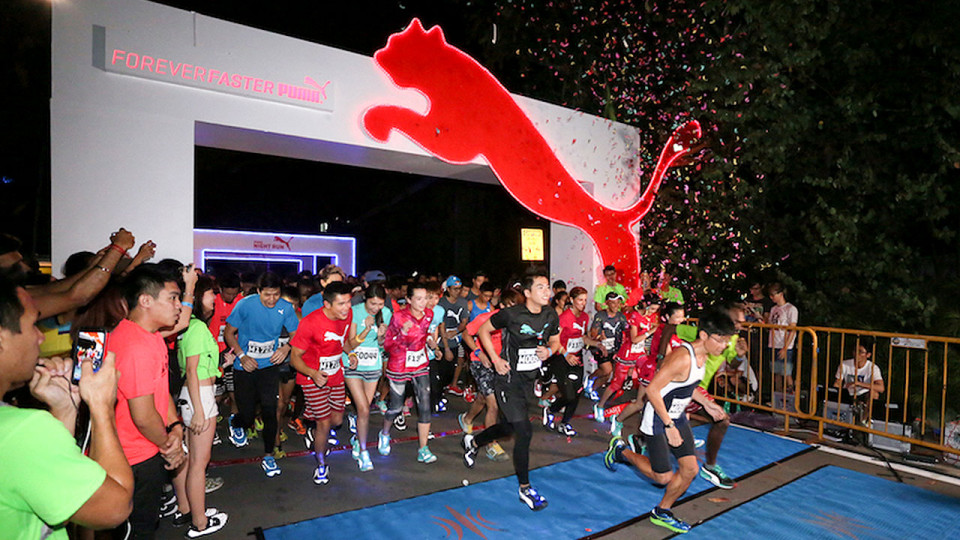 PUMA Night Run Singapore 2015