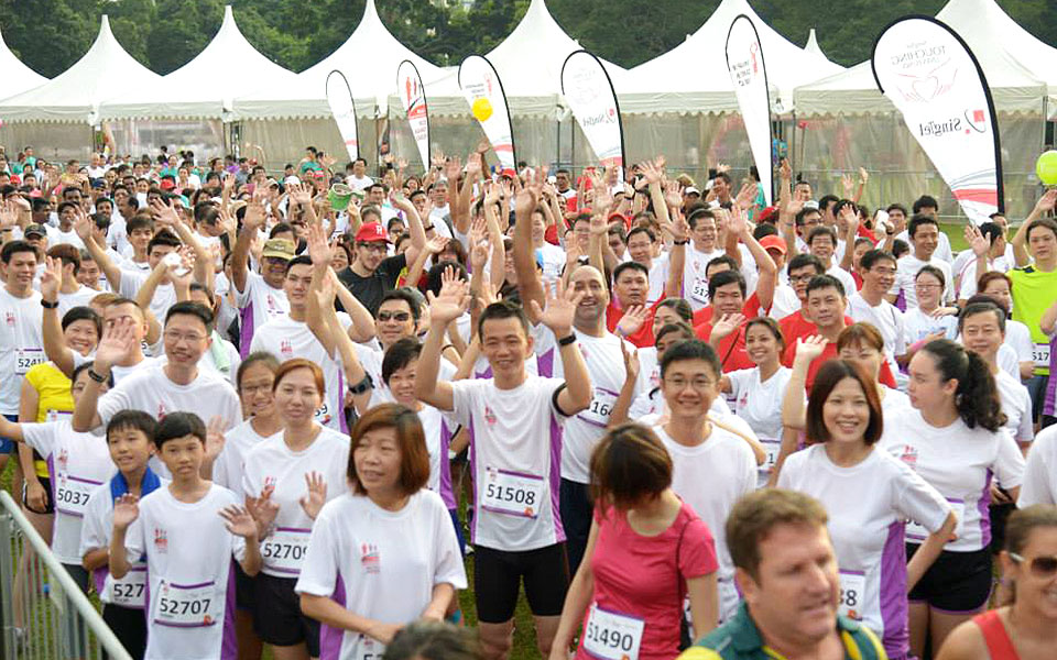 Race against Cancer with Singapore Cancer Society